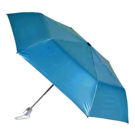 【2mm】第二代 100%遮光降溫 黑膠自動開收傘 (寶藍)