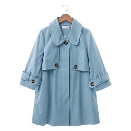 NR 長風衣-藍