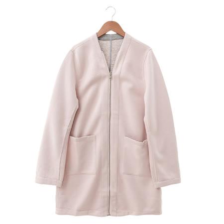 NR 棉織夾克-紅
