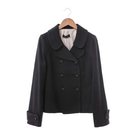 NR 短大衣-黑
