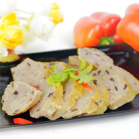 年菜預購-【高興宴】素人上菜-養生健康香菇卷300g(蛋奶素)