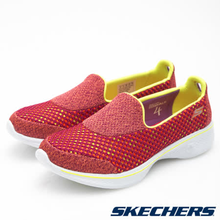 SKECHERS (女) 健走系列GO Walk 4 - 14145PKLM