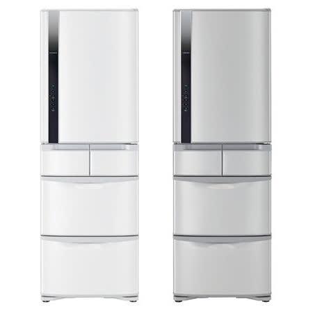 【HITACHI日立】420L日製五門變頻右開智慧控制冰箱RS42FJ