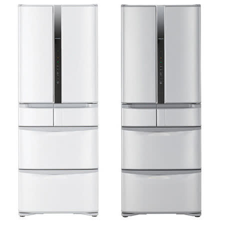【HITACHI日立】475L日製六門變頻低溫白金冷藏科技冰箱RSF48FJ