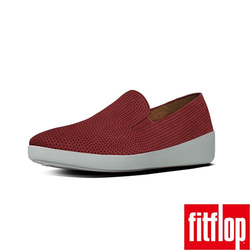 FitFlop™-(女款)F-POP™ SKATE PERF-土灰紅