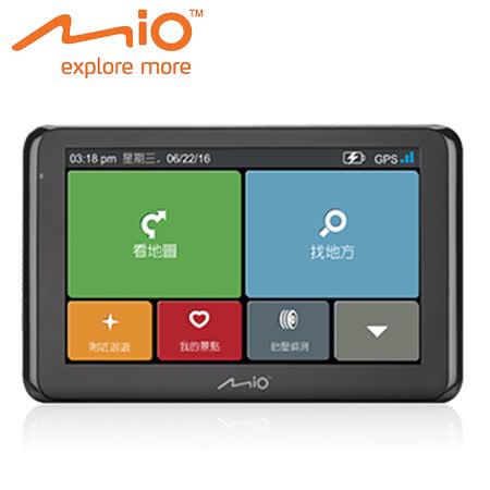 MIO NaviNext S60 6.2吋大螢幕動態預警聲控導航機 【原廠公司貨】送車用三孔+清潔組+LED燈+保護套