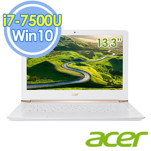 Acer S5-371-75BE 13.3吋 i7-7500U 雙核 FHD Win10 輕薄筆電-送時尚摺疊野餐椅+微軟Arc Touch藍芽滑鼠