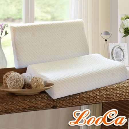 (好康) LooCa天絲纖維舒眠記憶枕(1入)