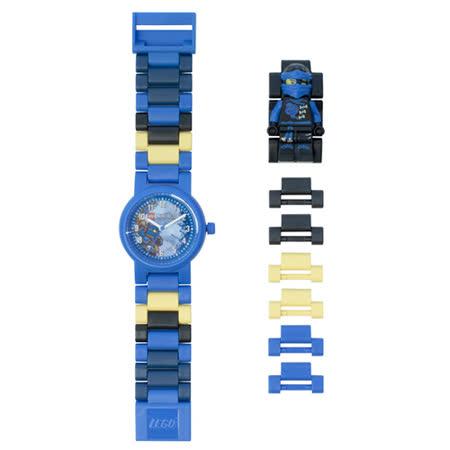 【樂高積木 LEGO】兒童手錶 - 旋風忍者阿光/藍忍者