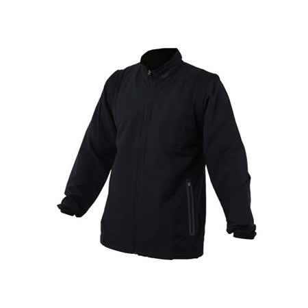 (男) NIKE GOLF 抗水防風系列外套-防水 背心 高爾夫 丈青黑