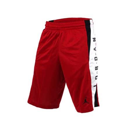 (男) NIKE 針織短褲-JORDAN 喬丹 籃球 籃球褲 紅白黑