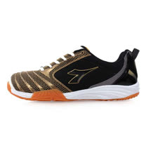 (男) DIADORA 羽球鞋-排球鞋 黑金