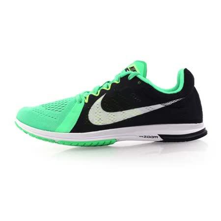(男) NIKE ZOOM STREAK LT 3 路跑訓練鞋-慢跑 路跑 健身 綠黑白