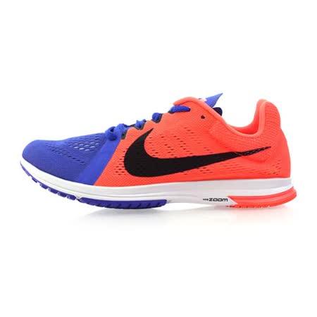 (男) NIKE ZOOM STREAK LT 3 路跑訓練鞋-慢跑 路跑 健身 亮橘寶藍