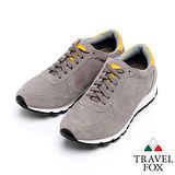 Travel Fox 麂皮復古鞋916662(灰-213)(男)