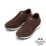 Travel Fox 麂皮復古鞋916662(咖啡-276)(男)