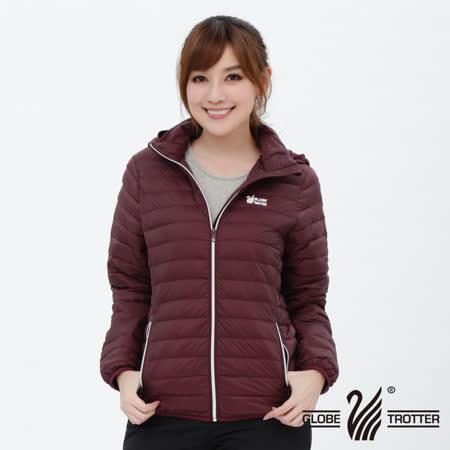 【遊遍天下】女款JIS90%羽絨防風防潑水輕暖羽絨外套G0312磚紅