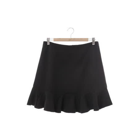 DOCH 簡約魚尾裙-黑