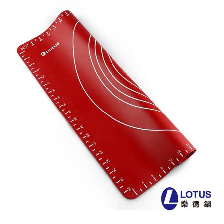 【LOTUS樂德】矽紅揉麵墊50*40cm