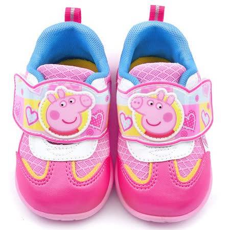 童鞋城堡-粉紅豬小妹 佩佩豬 中童 輕透氣運動鞋PG8527-粉