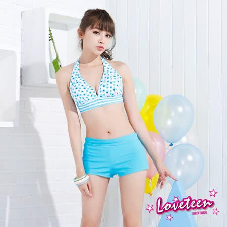 【LOVETEEN夏之戀】可愛點點大女比基尼三件式泳衣(N15701)