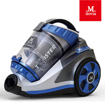 Mdovia最新第十六代DualV10雙層雙錐吸力永不衰退奈米銀殺菌吸塵器