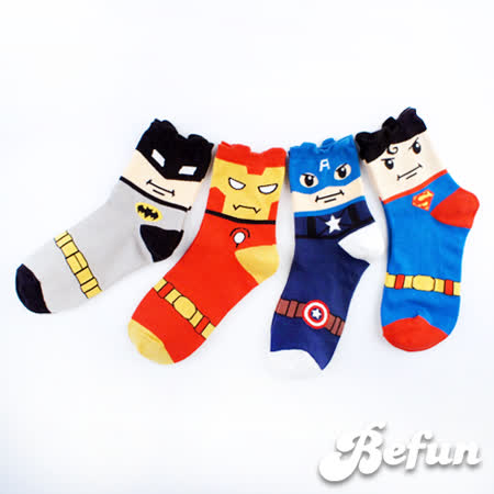 【 BeFun 內著專科 】KR 短襪 230  英雄崛起  韓國超夯短襪  多樣款式  選擇你愛的英雄  做自己的hero