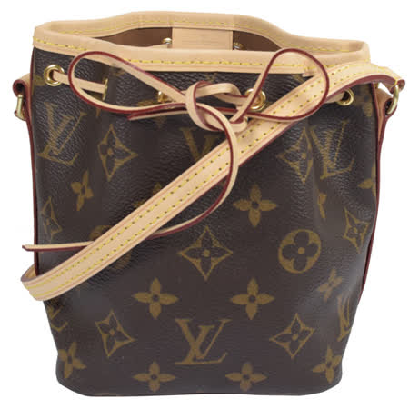Louis Vuitton LV M41346 Nano Noe 經典花紋斜背小水桶包 現貨