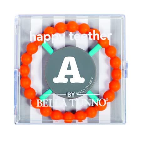 美國 BELLA TUNNO ABC字母矽膠固齒環 (12個字母款式)