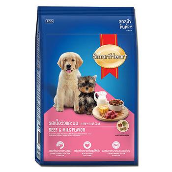 慧心犬糧-牛肉+牛奶口味幼犬配