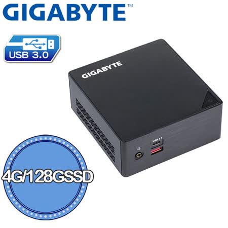 技嘉 GB-BSI3HA-6100 Brix微型電腦[4G/128G]
