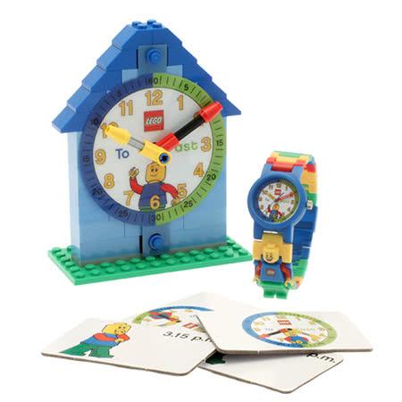 【樂高積木 LEGO】樂高時鐘教師-男孩