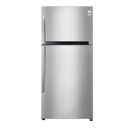 【LG 樂金】525公升 Smart 變頻上下雙門冰箱(GN-B560SV) 送安裝+送超商禮券1000.(鑑賞期過後寄出)