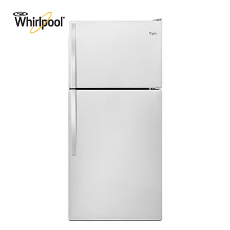 【Whirlpool惠而浦】533L上下門電冰箱白色WRT148FZDW  送安裝+超商禮券