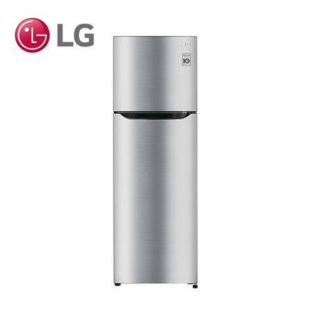 【LG樂金】 186L變頻上下門冰箱(GN-L235SV) 送安裝及送露營燈+超商禮券100(鑑賞期過後寄出)