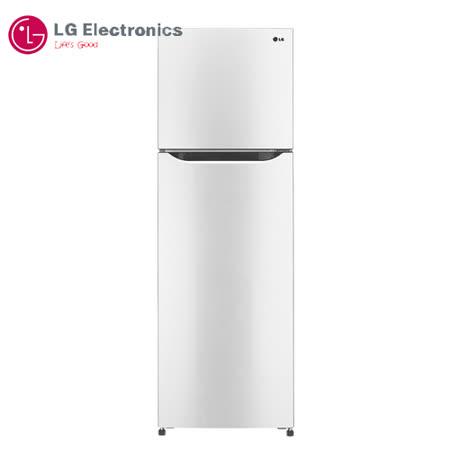 【LG 樂金】253公升SMART 變頻上下門冰箱(GN-L305W)典雅白  送安裝及超商禮卷300.-(鑑賞期過後寄出)