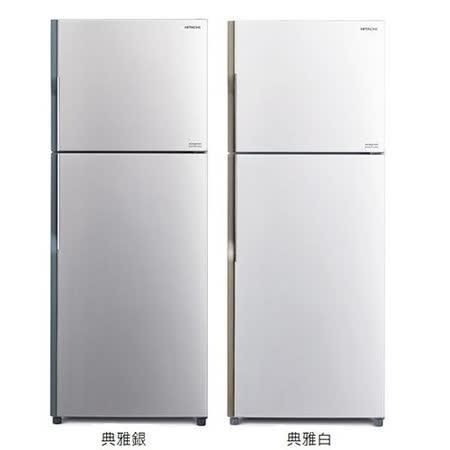 【HITACHI日立】 381L雙門變頻電冰箱RV399-PWH(典雅白)/SLS(典雅銀)~