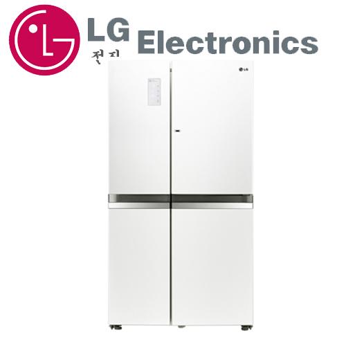 ~LG 樂金 ~ 825公升門中門魔術空間對開冰箱晶鑽白 GR~DB78W ^~送 禮券2