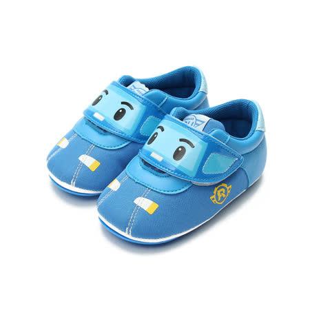 (小童) 救援小英雄 POLI波力車型寶寶鞋 藍 鞋全家福