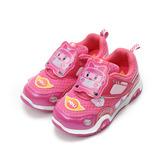 (中小童) 救援小英雄 AMBAR安寶前燈運動鞋 粉 鞋全家福