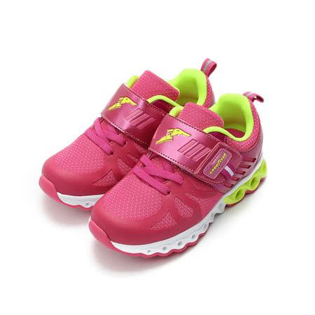 (中小童) GOODYEAR 輕量黏帶運動鞋 粉 鞋全家福