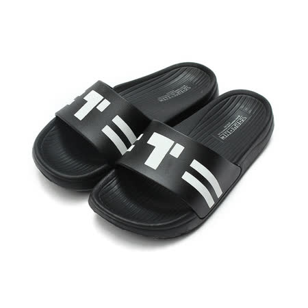 (大童) TOPU ONE 套式拖鞋 黑 鞋全家福
