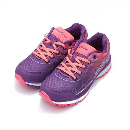 (女) GOODYEAR 戶外越野健走鞋 紫 鞋全家福