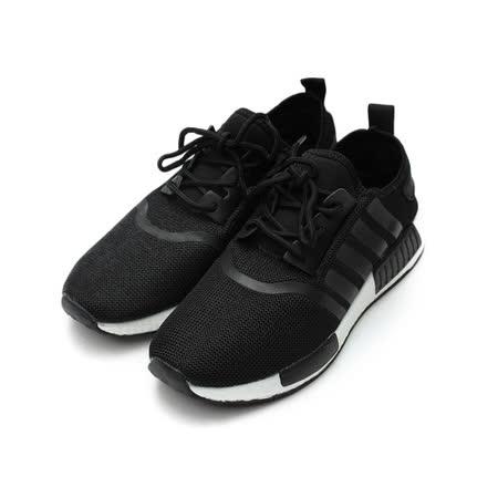 (男) GIOVANNI VALENTINO 輕量綁帶運動鞋 黑 鞋全家福