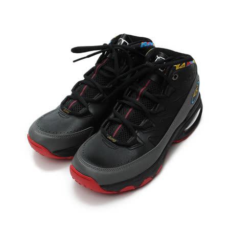 (男) JUMP 7036高筒籃球鞋 黑 鞋全家福