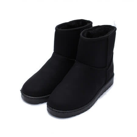 (女) Rin Rin 經典內刷毛短靴 黑 鞋全家福