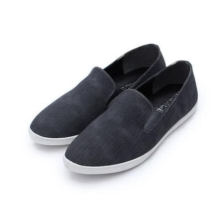 (女) NEW AGE 仿丹寧樂福鞋 黑 鞋全家福