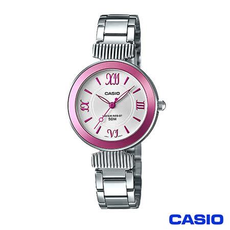 【CASIO卡西歐】 簡約優雅羅馬字刻石英女腕錶 LTP-E405D-4A