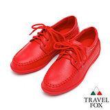 Travel Fox 柔軟格爾休閒鞋916811(紅-104)(女)