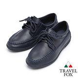 Travel Fox 柔軟格爾休閒鞋9168111(藍-147)(女)
